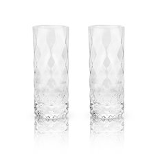 Raye: Gem Crystal Highball Glasses (VISKI)
