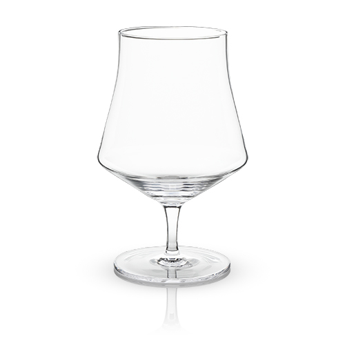 Raye: Crystal Beer Goblet Glasses (set of 2)