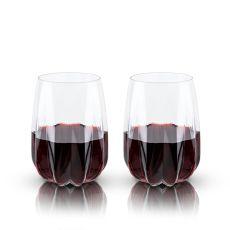 Raye: Crystal Cactus Wine Glasses