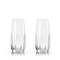 Raye: Crystal Cactus Champagne Flutes