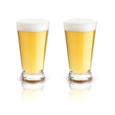 Raye: Crystal Pint Glasses