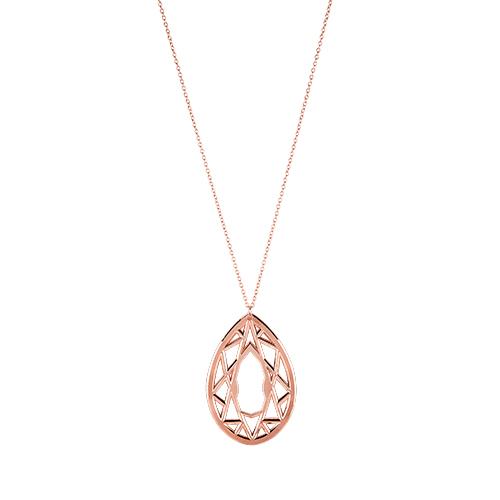 Gem: Rose Gold Necklace Bottle Opener by Blush