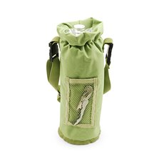 Grab and Go Insulated Bottle Carrier in Green