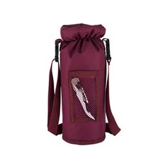 Grab and Go Insulated Bottle Carrier in Burgundy