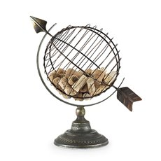 Chateau: Old World Globe Cork Display by Twine