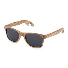 Faux Wood Bottle Opener Sunglasses by Foster and Rye