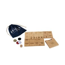 Drinkle Beer Drinking Board Game By Foster And Rye (Set of 6 )