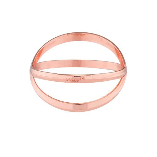 Criss Cross: Bracelet Bottle Opener in Rose Gold