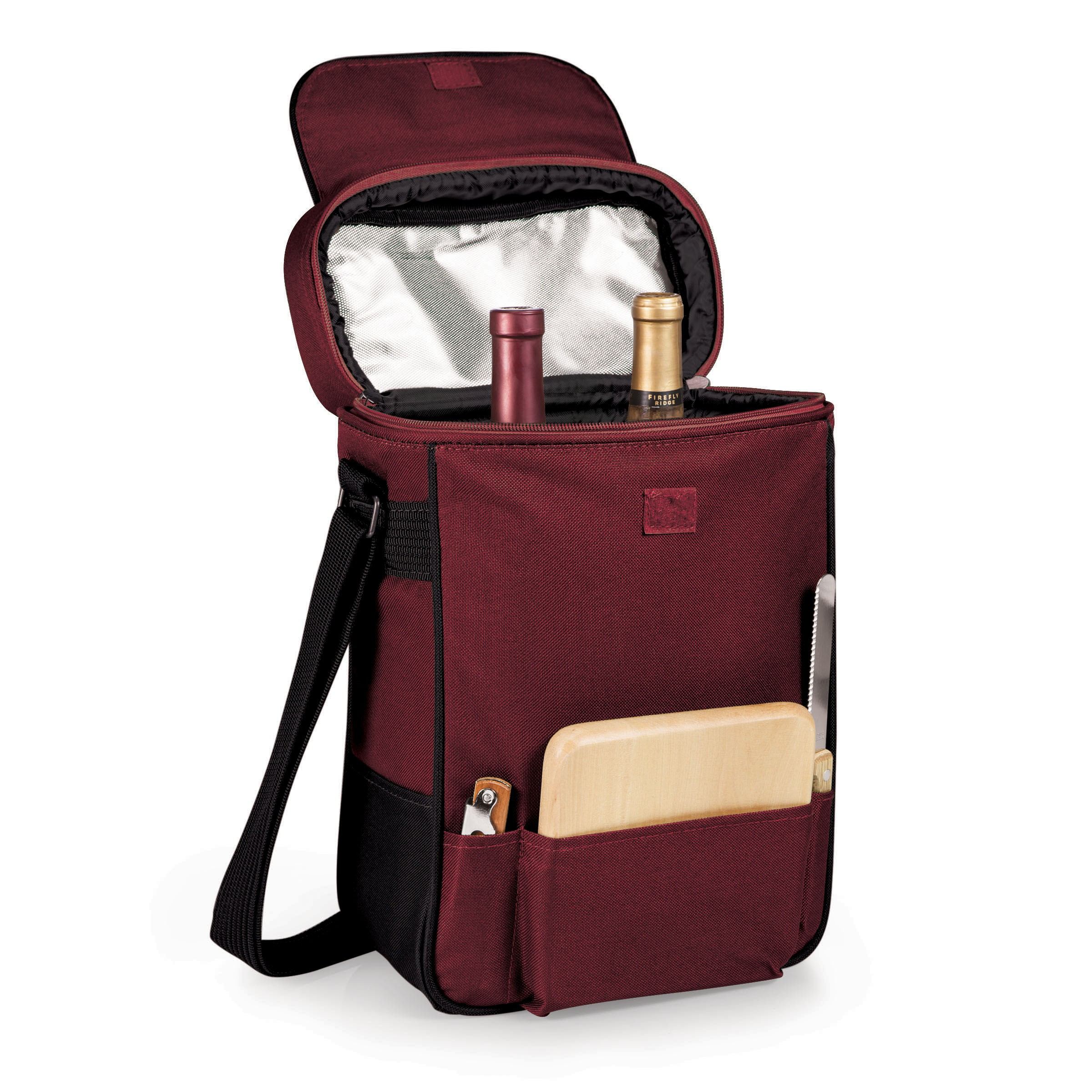 Duet Wine Bottle Wine & Cheese Tote