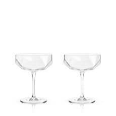 Raye: Faceted Crystal Coupe
