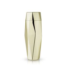 Belmont: Apex Faceted Gold Cocktail Shaker