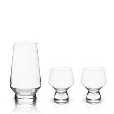Raye: Footed Daiginjo Sake Set (3-Piece Set)