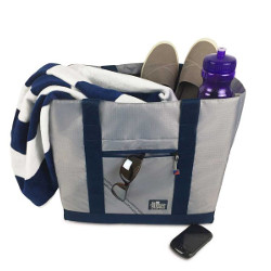 Silver Spinnaker All-Day Tote