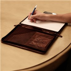 Voyager Letter Size Zip-Around Writing Pad