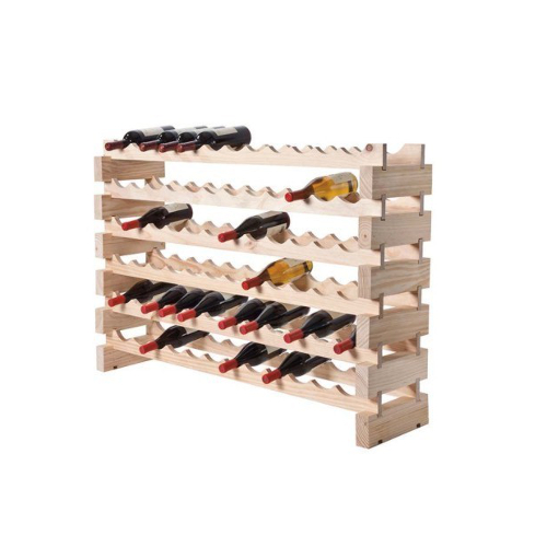 72 Bottle Modular Wine Rack - Natural