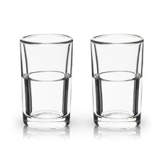 Glacier: Double Walled Chilling Shot Glasses by Viski