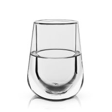 Glacier: Double Walled Chilling Wine Glass by Viski