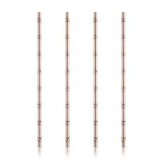 Pacific: Copper Bamboo Straws
