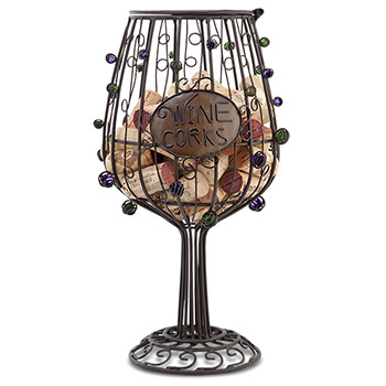 The Original CORK CAGE - Wine Glass