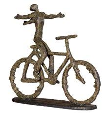 Uttermost Freedom Rider Metal Figurine