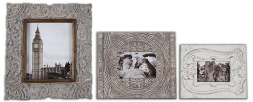 Uttermost Askan Wood Photo Frames Set/3