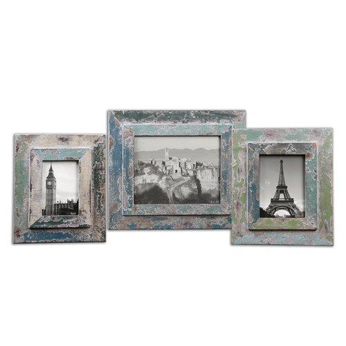 Uttermost Acheron Photo Frames, S/3