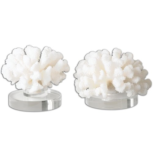 Uttermost Hard Coral Sculptures, S/2