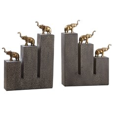 Uttermost Elephant Bookends, S/2