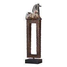 Uttermost Addie Horse Sculpture
