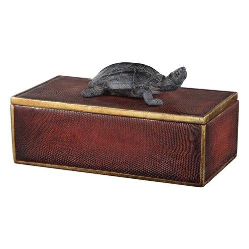 Uttermost Neagan Chestnut Brown Box