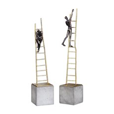 Uttermost Ladder Climb Sculpture S/2