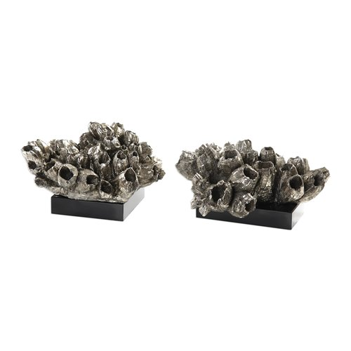 Uttermost Sessile Barnacle Sculptures S/2