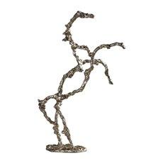 Uttermost Rearing Stallion Sculpture