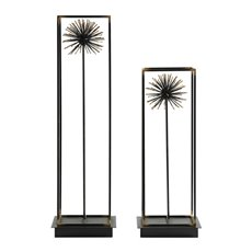 Uttermost Flowering Dandelions Sculptures Set/2