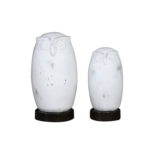 Uttermost Hoot Owl Figurines Set/2