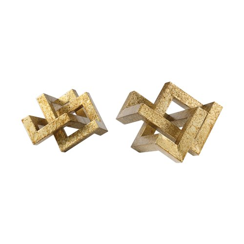 Uttermost Ayan Gold Accents, S/2