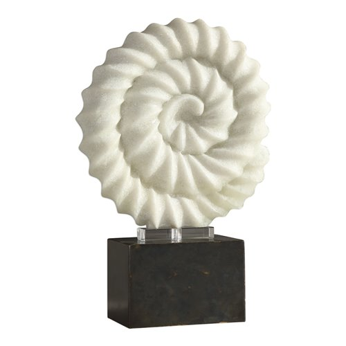 Uttermost Twisted Spiral Stone Sculpture