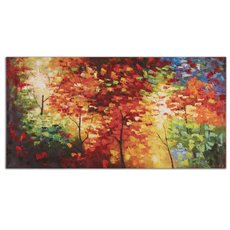 Uttermost Bright Foliage Canvas Art