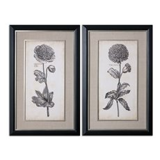 Uttermost Singular Beauty Floral Art Set/2