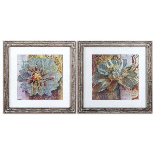 Uttermost Sublime Truth Floral Art, Set/2