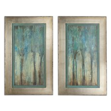 Uttermost Whispering Wind Framed Art, S/2