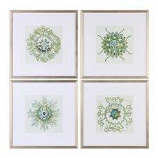 Uttermost Organic Symbols Print Art S/4