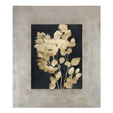 Uttermost Custom Postage Leaves Gold Foil Print