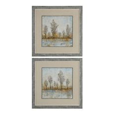 Uttermost Quiet Nature Landscape Prints S/2