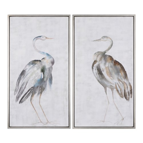 Uttermost Summer Birds Framed Art S/2