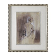 Uttermost Contemporary Draped Figure Feminine Art