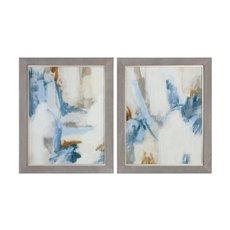 Uttermost Intermittent Abstract Modern Art Set/2