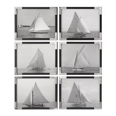 Uttermost Sailboats Prints S/6