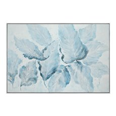 Uttermost Blue Belle Floral Art