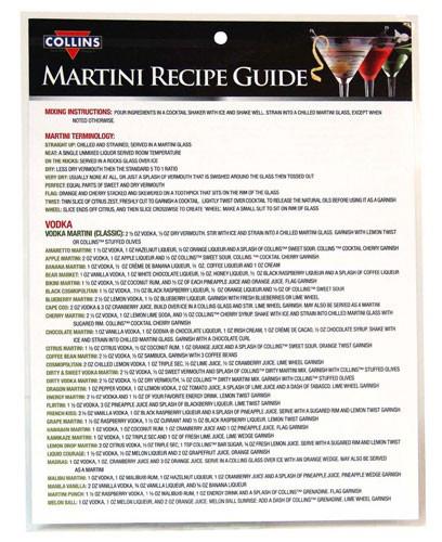 Martini Guide